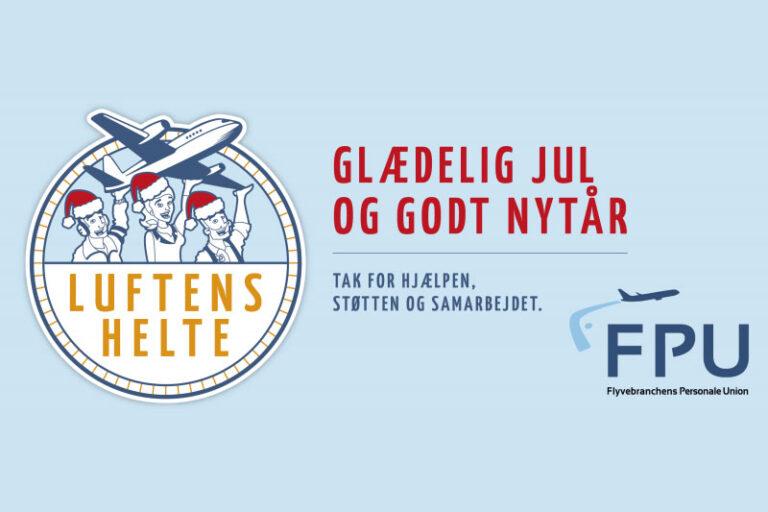 Luftfartsåret 2018 - julehilsen fra FPU. flyvebranchen.dk