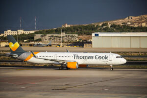 Information til piloterne i Thomas Cook Airlines Scandinavia